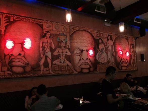 My arriba mural