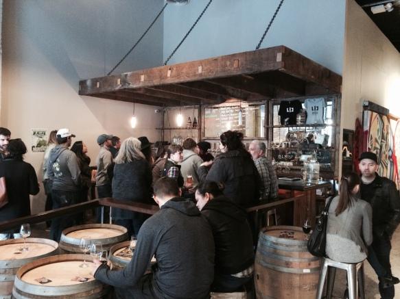 Brewery Sunday crowd